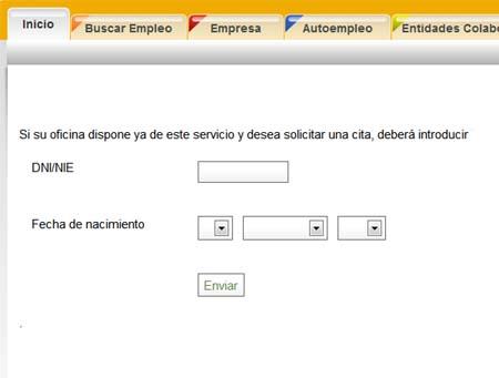 Cita previa inem andaluc a en cita inem for Oficina de empleo andalucia